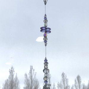 Lavendar Suncatcher 24″