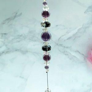 Purple Suncatcher 12″