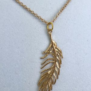 Golden Leaf Necklace