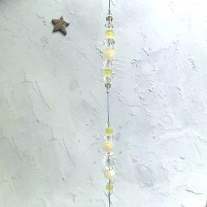 Mellow Yellow Suncatcher 12″