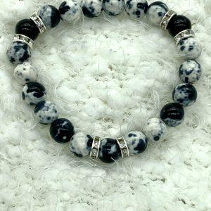 Rain Flower Stone Quartz Bracelet
