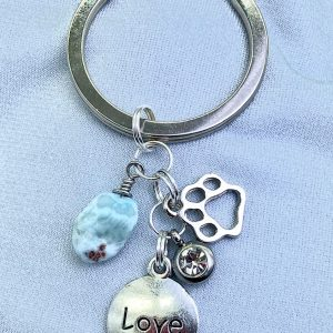 Pet Love Keychain / Purse Bling