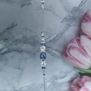 Sapphire Blue Suncatcher 12″