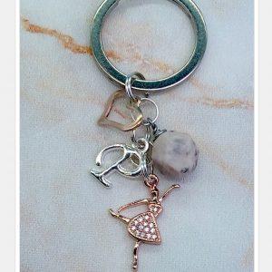 Dancer Keychain / Purse Bling