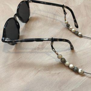Howlite And Labradorite Eyeglass Lanyard